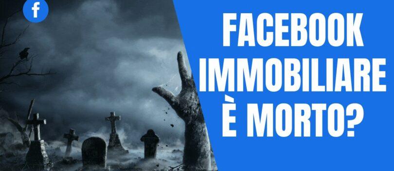 Facebook Immobiliare è morto